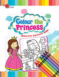 Creative Activity Book :Colour the Princess