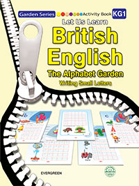 British English-Activity Book -The Alphabet Garden (Writing Small Letters) KG1