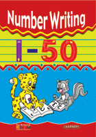 Number writing 1-50